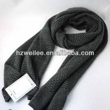 el cuello de tejer la bufanda patrón para hombres silenciador