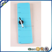 4mm 5mm colourful glass memo board with marker