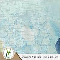 Yungang textile Beautiful Polyester curtain fabric jute