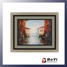 Sea and Boat Scenery Painting,Beautiful Sea Scenery Painting