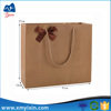 Wholesale recycled cheap brown paper bags with handle