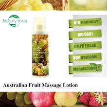 Australian Fresh Fruit Beauty Face Massage Lotion cream