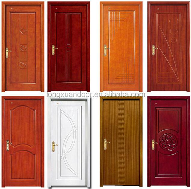 Modernos dise os de puerta de madera s lida puerta de for Disenos puertas de madera exterior