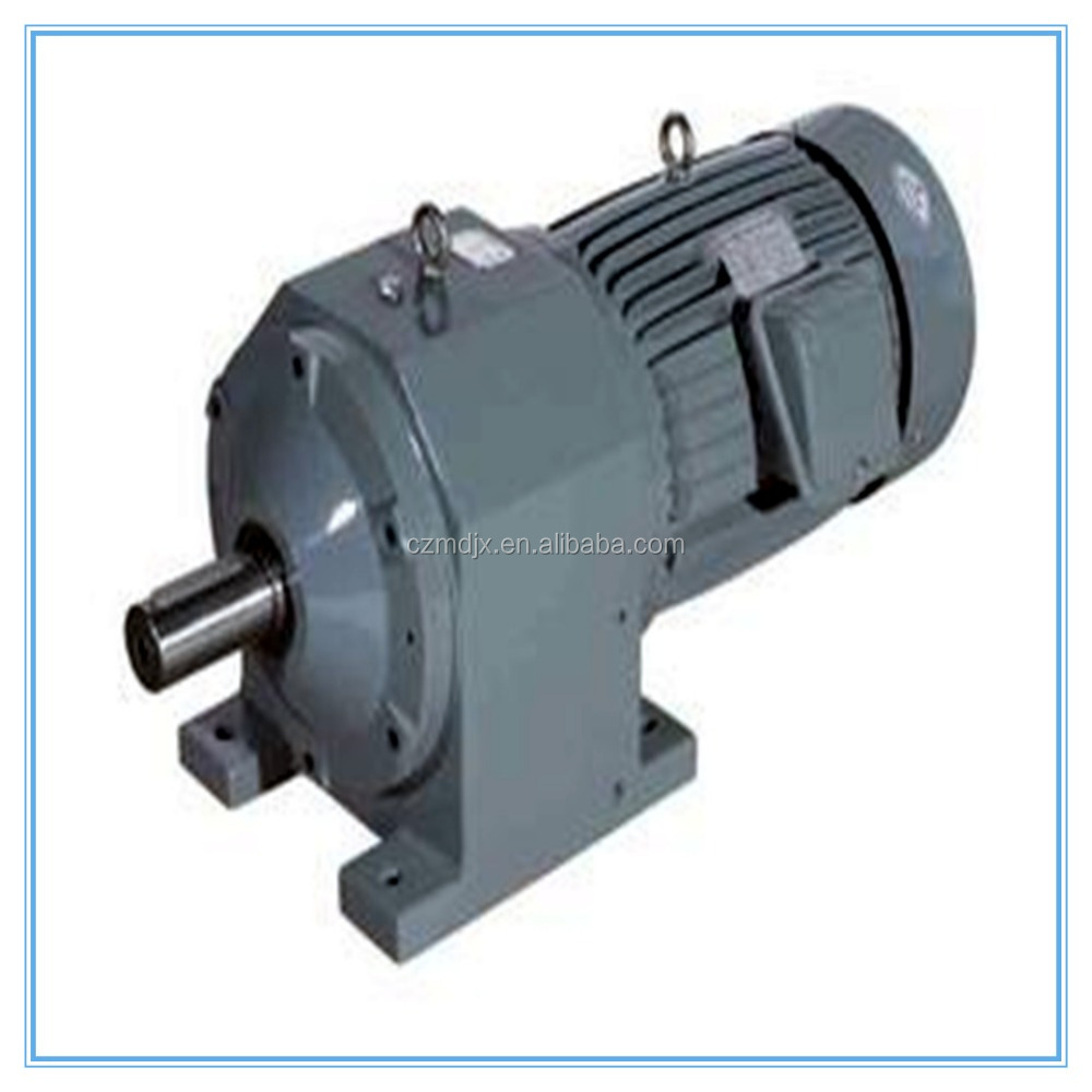 R series electric motor speed reduction reducer helical for Speed reducers for electric motors
