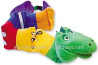 Plush Soft Snake Puppet for Fine Motor Development toy
