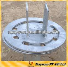 solar brackets screw piles for ground solar mount