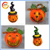 Ceramic decorations halloween pumpkin