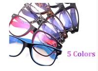 Fashion Design Large Frame Reflective Glasses for Computer