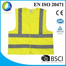 2015 hot sale CE standard reflective safety vest
