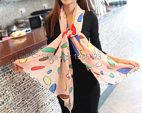 new winter autumn women scarf fashion style Chinese silk scarf polka velvet scarf chiffon Bohemia Scarves free shipping