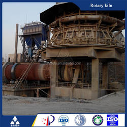 High efficiency rotary kiln petroleum coke lime kiln