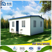 Easy and fast build sandwich panel cheap prefab house designs in india