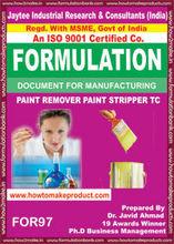fórmula documento para hacer pintura removedor de pintura removedor de tc