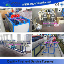HOT pvc dual pipe injection moulding machine