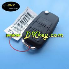 High Quality 3 button 433Mhz car remote key with ID48chip for vw remote key vw key (1jo 959 753 AH )