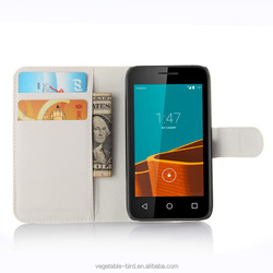 Flip Wallet Leather Mobile Phone Case Cover for Vodafone Smart first 6 new case for Vodafone