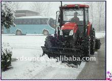 Barato snow plow hoja para tractores, 4 wd tractor quitanieves / lanzador, nieve barredora, nieve máquina de limpieza