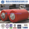 Bright color H.D.G end fittings cylindrical foam buoys