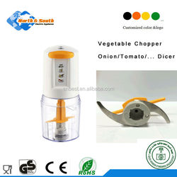 plastic food slicer and chopper for vegetable