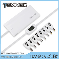 17mm super slim fast charging universal 90w adapters for laptop/tablet/phone charging