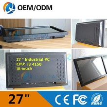 """made in china27""""core Intel i3 all-in-one PC desktop laptop computer all in one pc"""