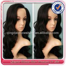 human hair thin skin top lace wig