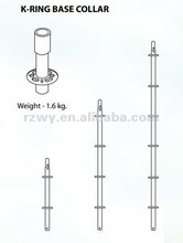 2012 Steel Ringlock scaffolding vertical pole and base collar