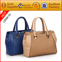 2015 trendy leather hand bags for women of guangzhou market