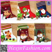 Most popular wholesale fashion plush chritmas stocking