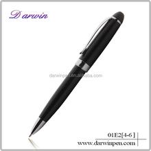 Trade Assurance high-end metal twist open ballpoint pen