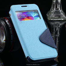 S4 Cases Luxury View Window Flip Leather Phones Case For Samsung Galaxy S4 I9500 SIV Card Slot Holster Back Cover For Galaxy S4