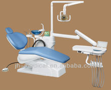 China dental chair dental Unit JH-215 wih adjustable headrest for sale