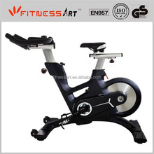 2015 NEW Design fashion magnetic fitness commercial Spin Bike SB1800 with compumter Model:JY-81577 with dipping handle bar