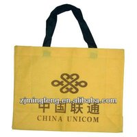high quality eco-friendly recycle non woven foldable shopping bag