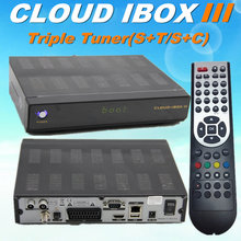 Cloud ibox 3 twin tuner dvb-s/s2+t2/c vu solo series satellite receiver