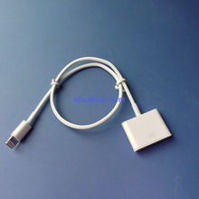 iphone5 male to iphone4/4s female converter adapter cable