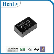 4:1 Input DC DC Power Converter 12VDC to +12/-12VDC URTD12D12-6W 31.75*20.32*10.16mm
