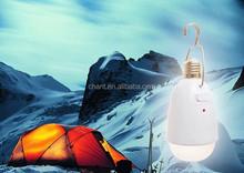 Remote control solar light bulb 21pcs led highlight portable camping lantern phone charger multifunction solar emergency light