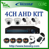 2015 aliexpress best selling 4CH dvr ,with 4 good quality cameras Bessky ahd 1080p hd dvr