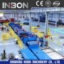 Combined Cutting and slitting Line for steel coils