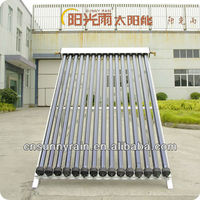 2015Sunnyrain New Design Heat Pipe Solar Collector ,Aquecimento Solar ,solar water heater(15tube)