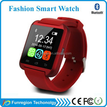 Popular Colors Touch Screen android u8 smart watch gt08 china best android smart watch phone