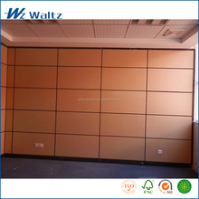 Aluminum Frame two layers E0 grade MFC wood office room divider