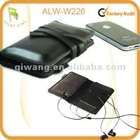 2013 New Genuine Leather/Felt Apple iPhone iPod Sleeve Case bag pouch for Apple iPhone4