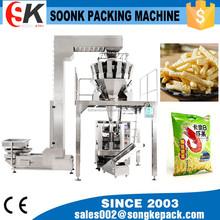 Sk-520dt completo almohada automática máquina de envasado de alimentos