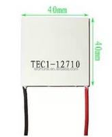 TEC1-12710 DC12V 10A Thermoelectric Cooler Peltier 40*40*3.6MM TEC1 12710 Hot Sale NA180
