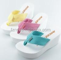 wedge sandals women high heel shoes summer platform,latest ladies sandal
