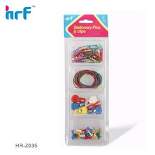 Stationery Clip Set With Alligator Clip