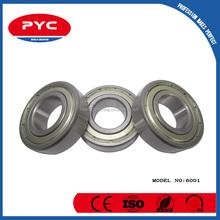 PYC ShangHai Bearing Manufacturer Supply Best Price Ball Bearing 6001 6001rs 6001z 6001zz