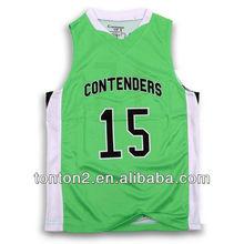 nice latest custom sublimated basketball clothing